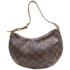 Louis Vuitton Croissant Monogram Mm Hobo 867968 Brown Coated Canvas Shoulder Bag