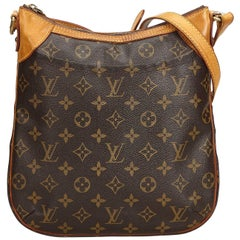Louis Vuitton Brown Monogram Odeon PM