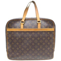 65b1ab7594d4 Louis Vuitton Porte Pegase Business Attachel Briefcase 869029 Brown Canvas  Tote