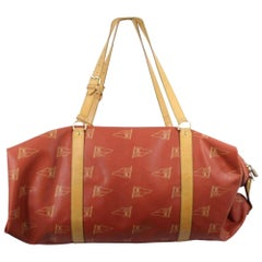 Louis Vuitton Garment Cover (Limited Edition) 1995 Cup 867510 Red Weekend/Travel