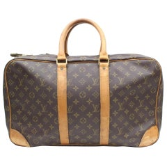 Louis Vuitton Duffle Sac Tres Poches 3 Luggage 869398 Brown Weekend/Travel Bag