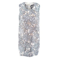 Balenciaga Floral Shift Dress US 8