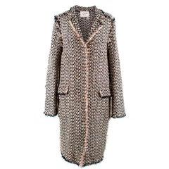 Lanvin Woven Lightweight Coat US 4