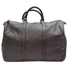 7dfd2e2f0cd9 Gucci Boston Guccissima Joy Duffle 867664 Brown Leather Weekend/Travel Bag