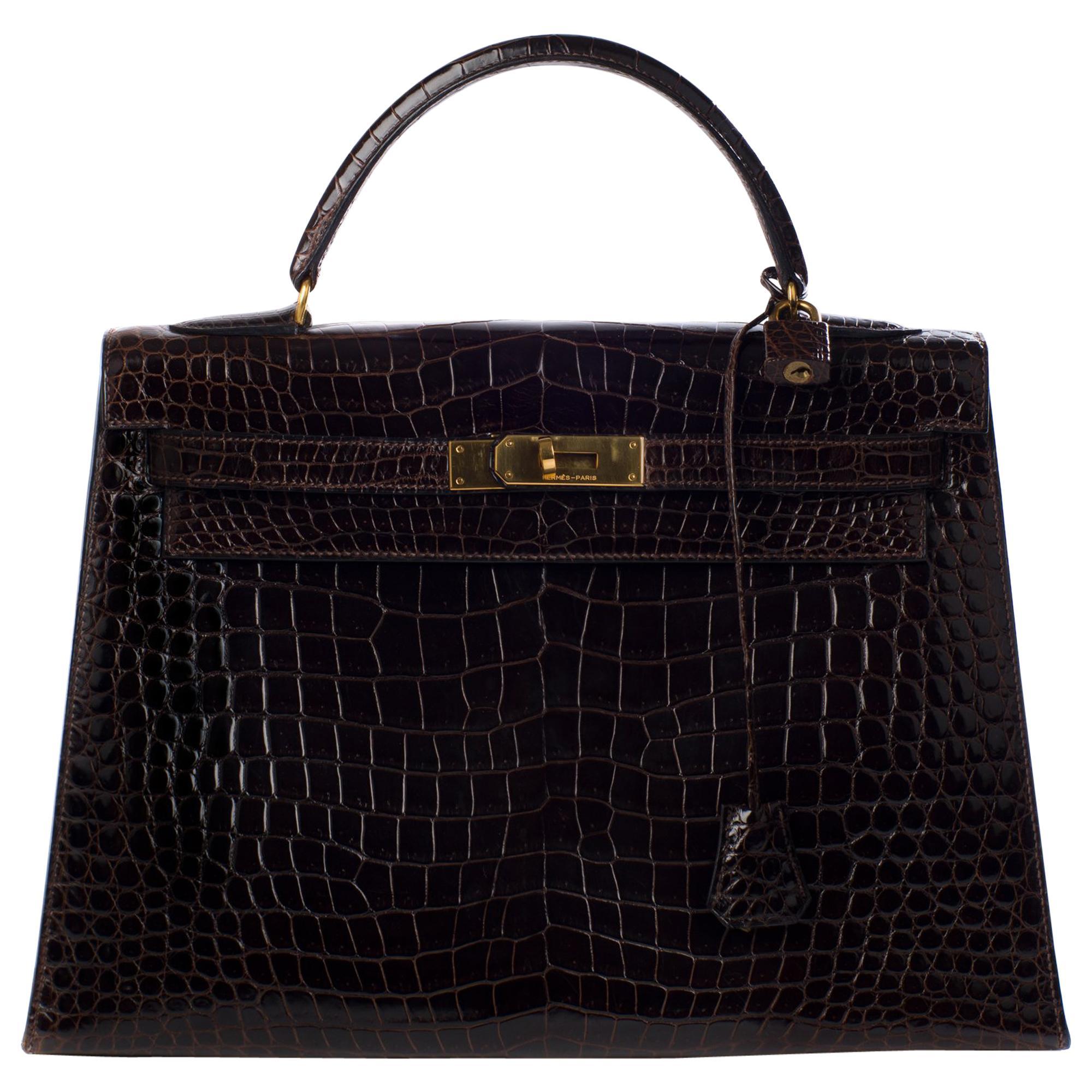 45ed418d520 Black Crocodile Bags - 296 For Sale on 1stdibs