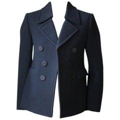 Celine Wool-Blend Short Jacket