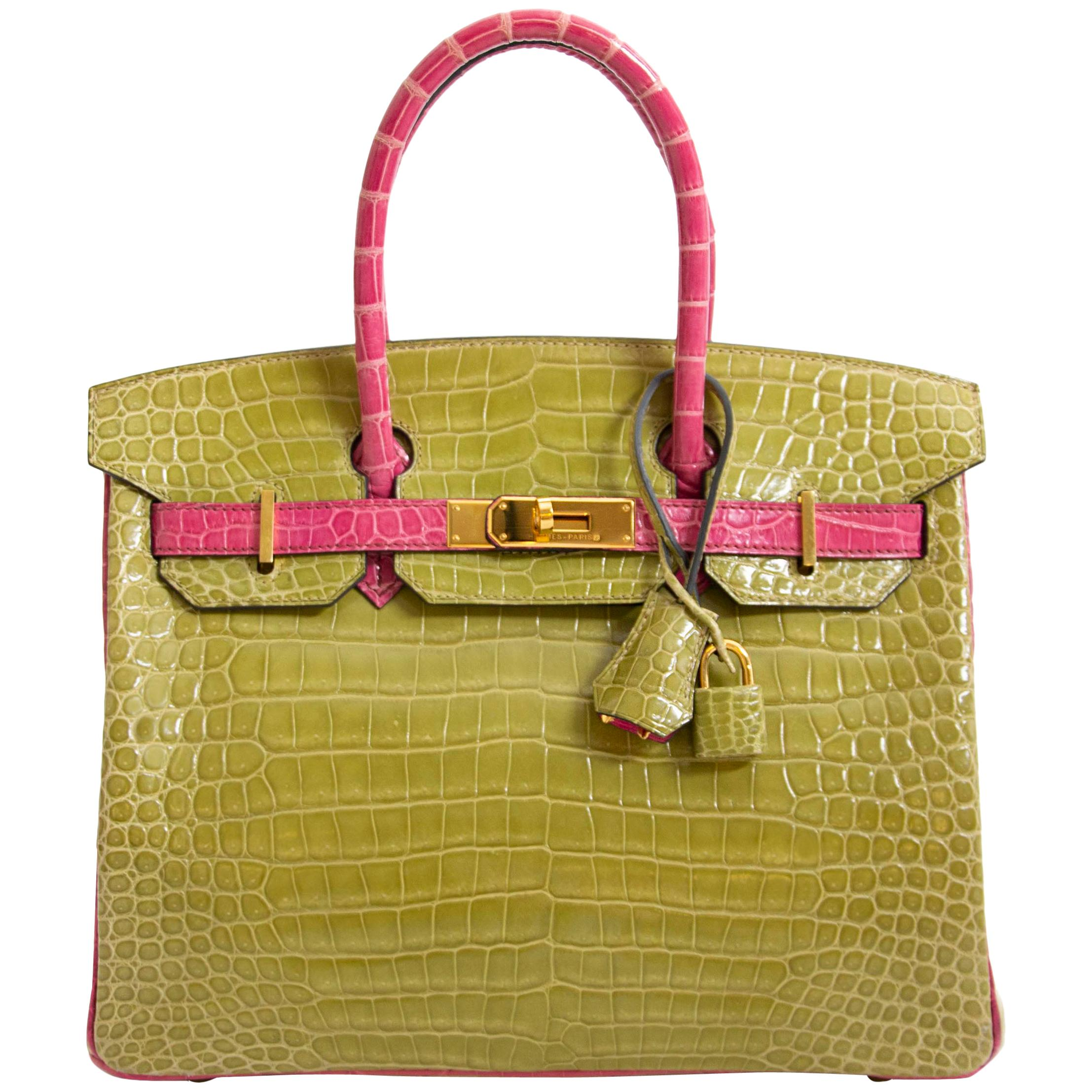 99c9dc1e9d Crocodile Birkin Bags - 108 For Sale on 1stdibs