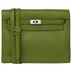 2009 Hermès Vert Pelouse Swift Leather Kelly Danse
