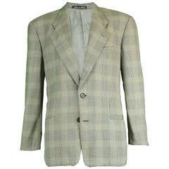 Giorgio Armani le Collezioni Men's Vintage Sharp Shouldered Blazer, 1990s