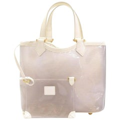 Louis Vuitton Plage Translucent Clear Epi Lagoon Bay Baia with Pouch 869148 Whit