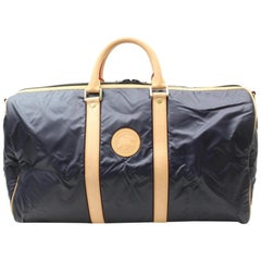 Boston Duffle 869049 Black Nylon Weekend/Travel Bag