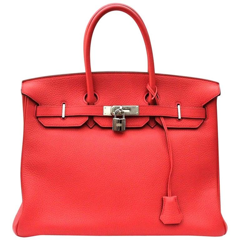 Hermes Birkin 35 Togo Rose Jaipur For Sale