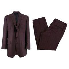 Dolce & Gabbana Men's Wool-Blend Suit XL
