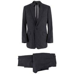 Kilgour Grey Striped Two Piece Suit M