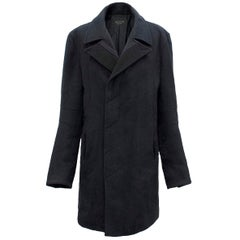 Rag & Bone Navy Wool Coat M