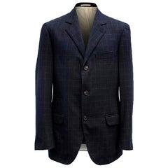 Brunello Cucinelli Wool & Cashmere Blend Blazer M