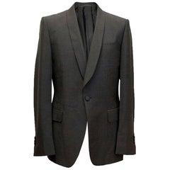 Yves Saint Laurent Mohair blend, one button blazer L