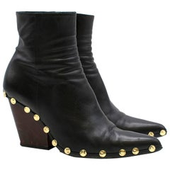 Celine Rodeo High Ankle Boot with Studs US 6.5