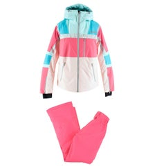 Colmar Neon Pink Ski Jacket & Trousers Set US 4