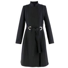 Proenza Schouler Belted Wool Blend Coat US 6