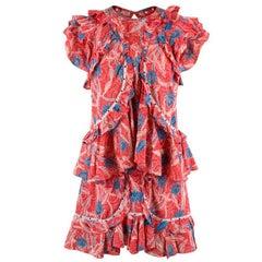Isabel Marant Floral Top & Skirt US 6