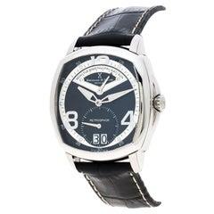 Bernhard H Mayer Black Stainless Steel La Retrograde II Men's Wristwatch 42 mm