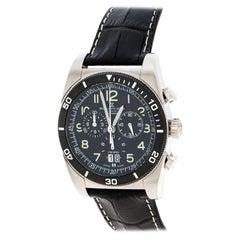 Bernhard H. Mayer Black Stainless Steel Chronomax Men's Wristwatch 41 mm
