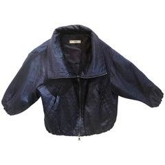 Prada Blue Bomber Jacket