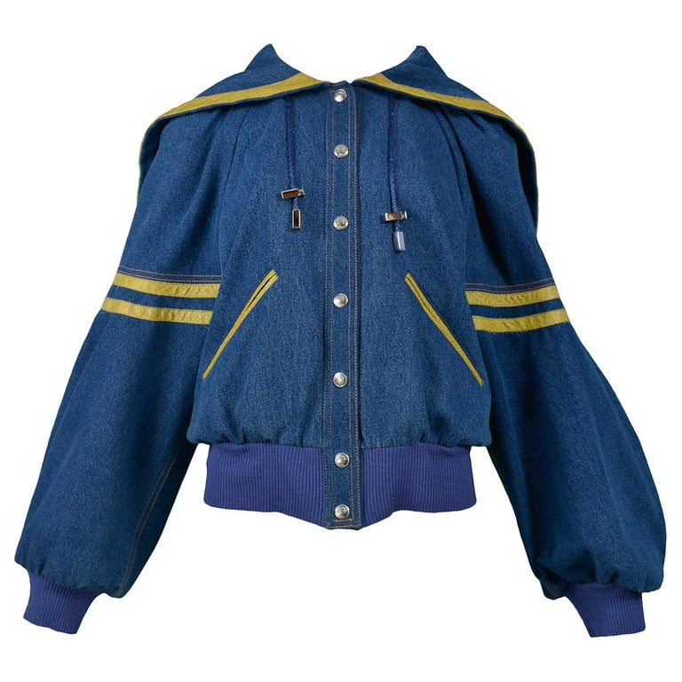 John Galliano for Christian Dior varsity jacket, 2002, offered by Resurrection