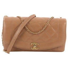Chanel Diana Flap Bag Quilted Lambskin Medium
