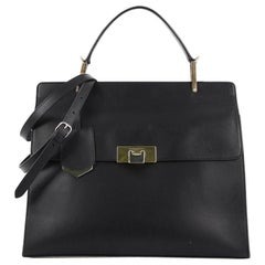Balenciaga Le Dix Cartable Top Handle Bag Leather Medium