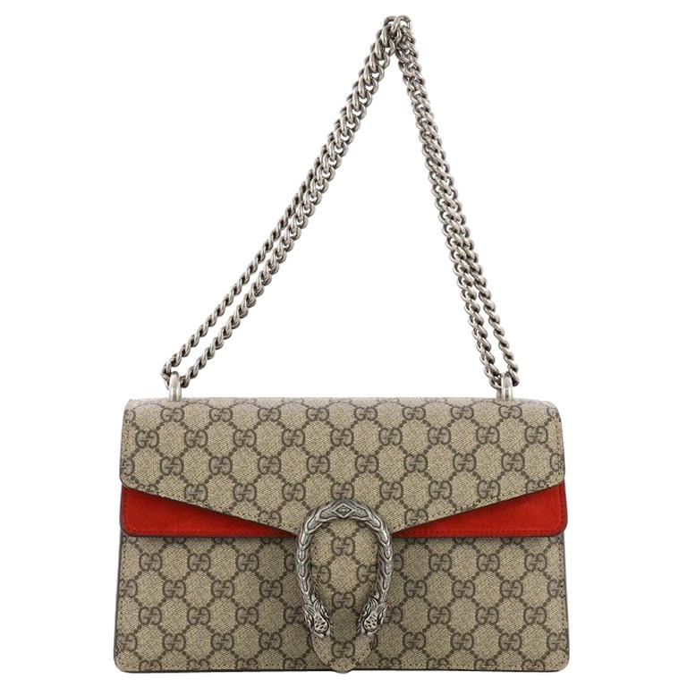 42bf8970561 Gucci Dionysus Handbag GG Coated Canvas Small For Sale at 1stdibs