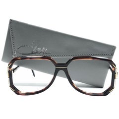 New Vintage Cazal 639 Tortoise Frame Reading 1970's Sunglasses