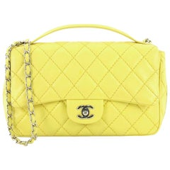 Chanel Easy Carry Flap Bag Quilted Lambskin Medium