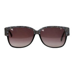 Emilio Pucci Vintage Black Sunglasses 88020 EP75 60mm New Old Stock