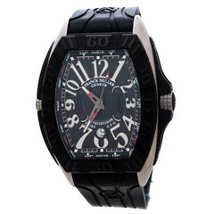 Franck Muller Black Titanium Prix 9900 SC DT PG Men's Wristwatch 48 mm