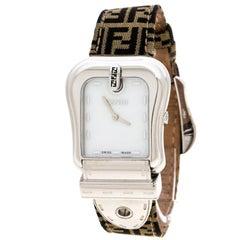 Fendi Mother of Pearl Stainless Steel B.Fendi 3800G Women's Wristwatch 33 mm