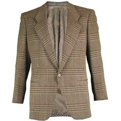 Giorgio Armani Men's Italian Wool Tweed Sportcoat Blazer Jacket, c. 1985