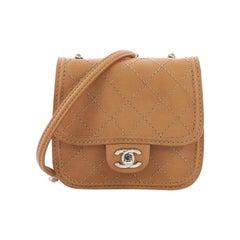 Chanel Citizen Flap Bag Quilted Calfskin Mini