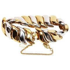 Monet Silver and Gold Bracelet