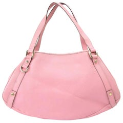 Gucci Abbey (Ultra Rare) Limited Hobo 868816 Pink Leather Shoulder Bag