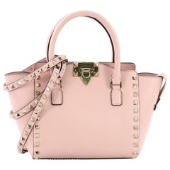 Valentino Rockstud Tote Rigid Leather Mini