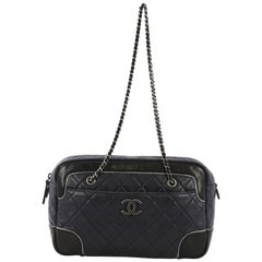 e062b3930315 Chanel Two-Tone Camera Chain Bag Quilted Calfskin Medium