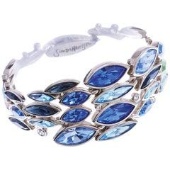 Simon Harrison Aquarius Ombre Crystal Bracelet
