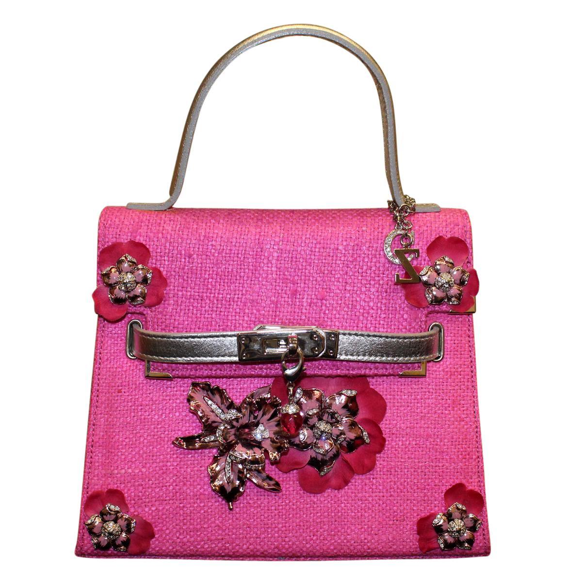 Carlo Zini Milano Jewel Bag Unique Piece