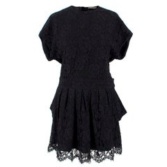 Balenciaga Lace Little Black Dress US 6