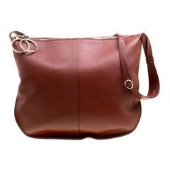 Nina Ricci Copper Leather Large Kuti Hobo