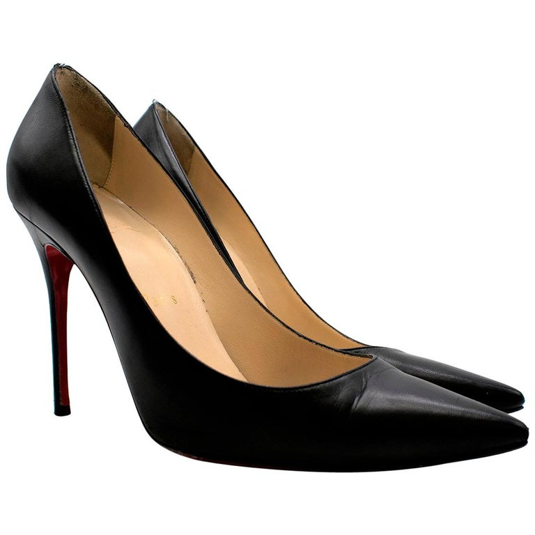 Christian Louboutin Pigalle Nappa Shiny Pump US 7 For Sale