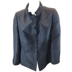 Armani Collezioni Grey Silk Jacket