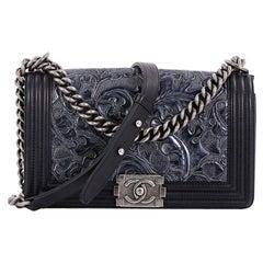 Chanel Cordoba Boy Flap Bag Leather Old Medium